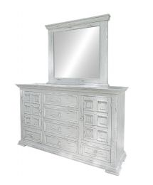 Tara White 6 Drawer Dresser