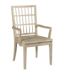 Symmetry Wood Arm Dining Chair