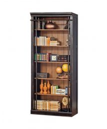 Aged Ebony Toulouse Bookcase